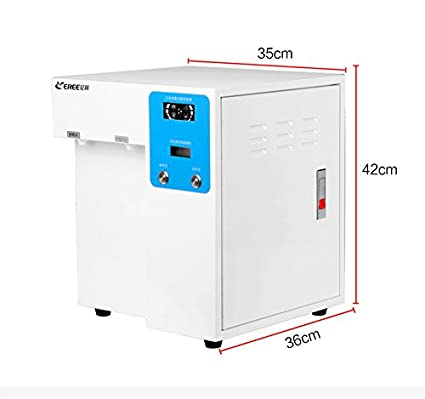 15L/H laboratorio equipo de destilación de agua ultrapura máquina ...