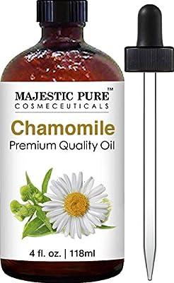 Majestic Pure Chamomile Oil, Premium Quality, 4 fl Oz