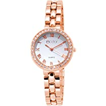 Modor Modern Hues Rose Gold Wrist Watch for Women & Girls (M