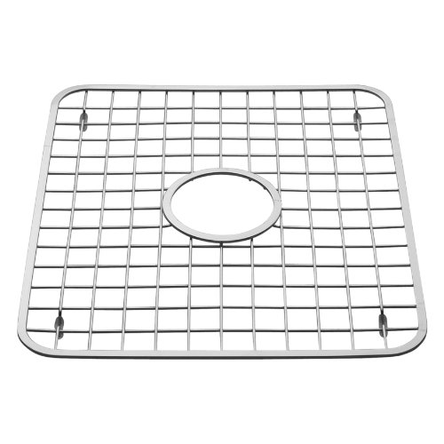 Wonderful InterDesign Gia Kitchen Sink Protector   Wire Grid Mat With Center Drain  Hole, Polished
