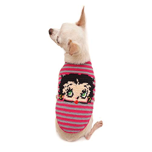 ToniMoz Betty Boop Dog Clothes Handmade, Betty Boop Pet Clothing, Betty Boop Costume for Dog, Small Dog, Medium Dog, Large Dog (XS)