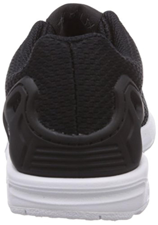 Adidas Zx Flux, Unisex Kids Low-Top Sneakers, Black (Black/Black/Ftwr White), 1 Child UK (33 EU)