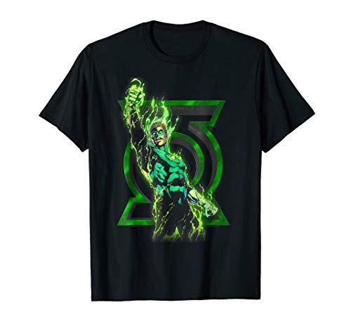 Green Lantern Fully Charged Lantern T Shirt