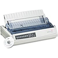 OKI62411701 - Oki Microline 321 Turbo Dot Matrix Impact Printer