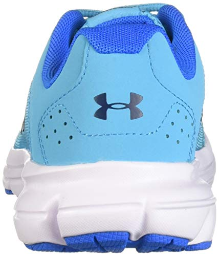 Under Armour Girls' Grade School Rave 2 Sneaker Alpine (301)/Blue Circuit 3.5 by Under Armour (Image #2)