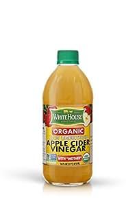 White House Organic Raw Unfiltered Apple Cider Vinegar (16oz)