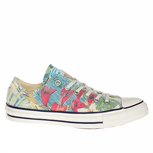 CONVERSE - Schuhe All-Star- CT PRINT HALLO OASIS Stoff Blumen Fantasie 148449C - 148449C - 36.5, Multicolor