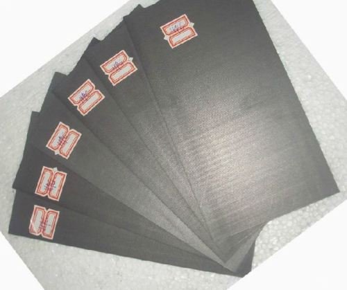 5pcs 99.99% Pure Graphite Electrode Rectangle Plate Sheet - Electrodes 40 Rectangle