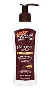 PALMER'S Coconut Oil Formula Natural Bronze Gradual Tanning Body Lotion, 250ml