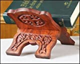 Collapsable Rosewood Prayer Book Bible Stand Church and Chapel Supplies