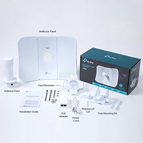 TP-Link 5GHz 300Mbps High Power Outdoor CPE/Access Point, 5GHz 300Mbps, 802.11n/a, Dual-Polarized 23dBi Directional Antenna, Passive POE (CPE610) by TP-Link (Image #4)