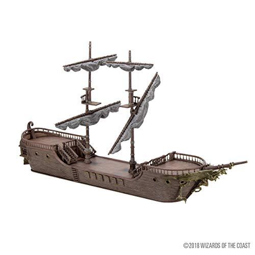 D&D Icons of The Realms: The Falling Star Sailing Ship! from WizKids