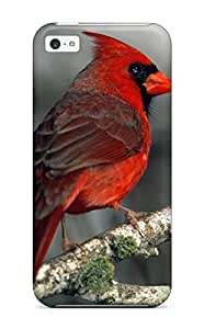 Awesome Cardinal Flip Case With Fashion Design For Iphone 5c 8792484K41014328