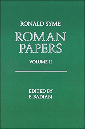 Book Roman Papers Volume 1: v. 1 and 2