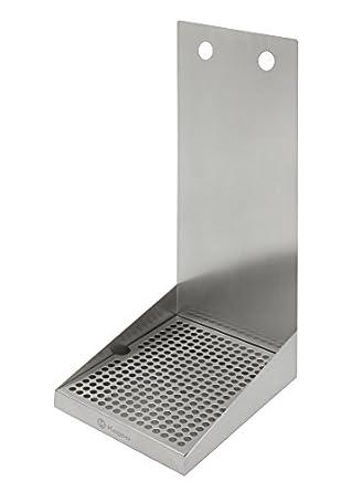 Amazon.com: kegco sewm-810 – Bandeja de goteo de acero ...