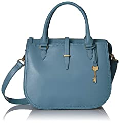 Ryder is a multitasker's dream in glazed leather, complete with triple compartments and expandable gussets for optimum organization. Ryder Women's Satchel. removable-strap.