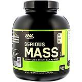 Optimum Nutrition Serious Mass High Protein Weight Gain Powder Banana 6 lbs 2 72 kg