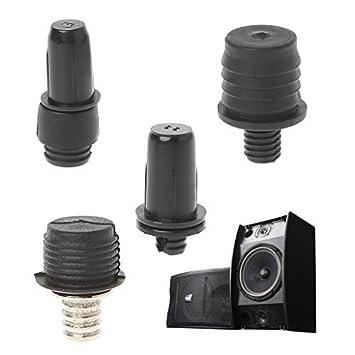 10 Pairs Metal Post Socket Type Grill Guides Pegs Plastic Screws Speaker Parts