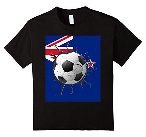 unisex-child-new-zealand-soccer-t-shirt-kiwi-player-nz-team-cleats-jersey-8-black