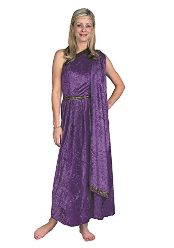 Female Togas Costumes (Female Toga - Long, Purple Costume)