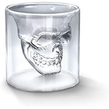 Fred DOOMED Crystal Skull Shotglass
