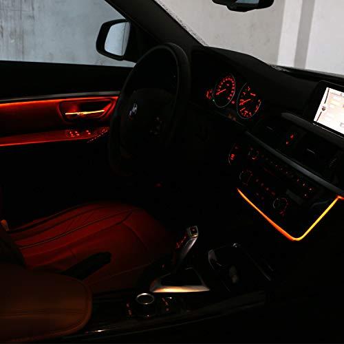 cherrypop Per 3 Serie F30 Lci Radio Trim LED Pannello Centrale Console Pannello Luce