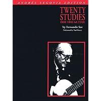 Andres Segovia - 20 Studies for Guitar: Book