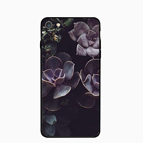 Succulents Pattern iPhone 6S Case for Girls,iPhone 6 Case,Hard PC Case Anti Slip Protective Cover for iPhone 6/6S 4.7