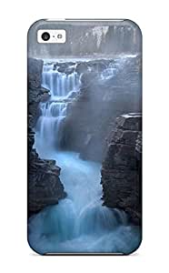 Protection Case For Iphone 5c / Case Cover For Iphone(glorious Waterfall)