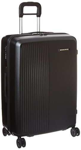 Briggs & Riley Sympatico Medium Spinner Suitcase, Black, 27 Inch by Briggs & Riley