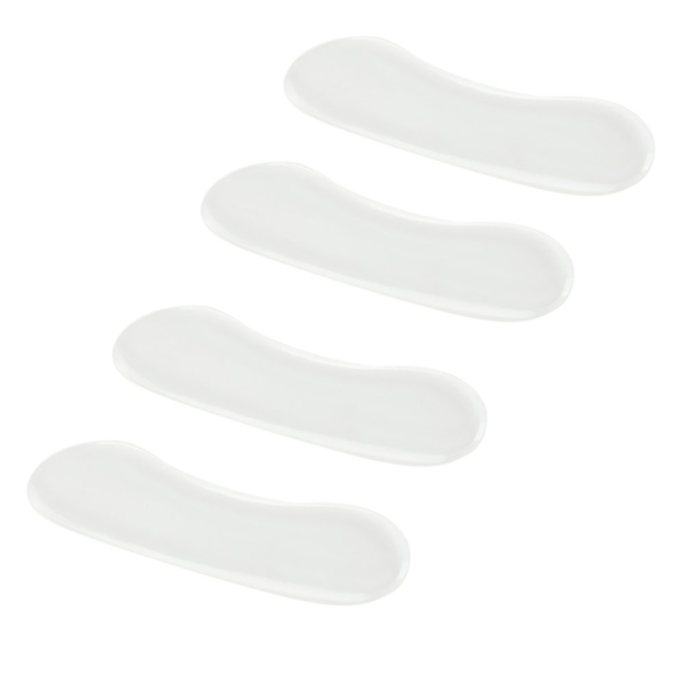 Einlegesohlen F/ür Schuhe Selbst Klebend Bequem In Farbe Transparent Von VAGA/® Beste Qualit/ät Paar Silikon Einlagen