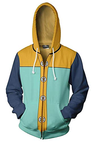 starfun Harlequin King Meliodas Hoodies Costume Sweatshirt Jacket Coat Unisex]()