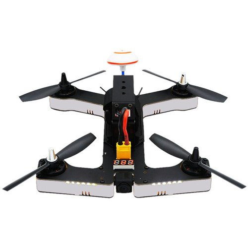 VIFLY R220 M2 (White) Racing Drone BNF Version with FrSky Receiver | F4 Flight Controller | 2205-2600KV Motors | BLHeli-S 30A ESCs | 700TVL Camera | Compatible with Taranis Q X7, X9D Plus, X9E