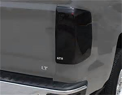 GT Styling GT4993 BlackOut Taillight Covers Smoke 2 pc. BlackOut Taillight Covers (Best Way To Smoke Out Tail Lights)