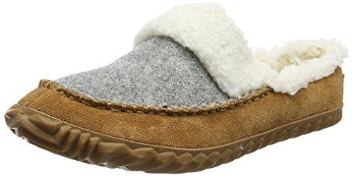 Alce Out Pantofole Donne A Merito Delle grigio Slitta In Chiaro N Basso Sorel Marrone top A qCZrq