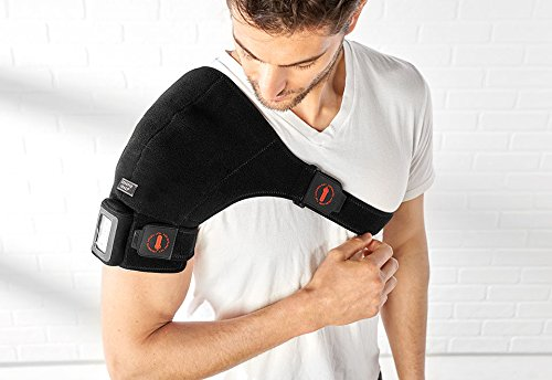 Sharper Image Cordless Shoulder Heat Therapy Wrap - L/XL by Sharper Image