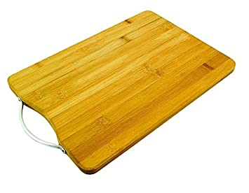 78fc51829 Image Unavailable. Image not available for. Colour  SYGA Wooden Bamboo  Kitchen Chopping Board with Holder for Fruits