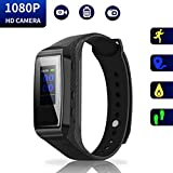 Hidden Camera Bracelet HD Mini Camcorder - LARGER DISPLAY Version Spy Camera 1080p