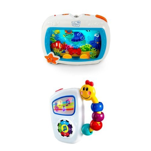 Baby Einstein Click   Discover Remote And Take Along Tunes Bundle