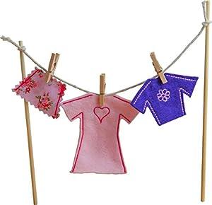 Irish fairy door clothes line female toys for Irish fairy door uk