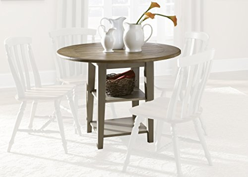 Liberty Furniture 541-T4242 Al Fresco Dining Drop Leaf Leg Table, 42