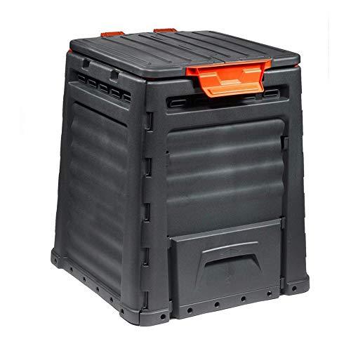 BULTO Kunststoff Komposter - Inhalt 320 Liter - Farbe schwarz