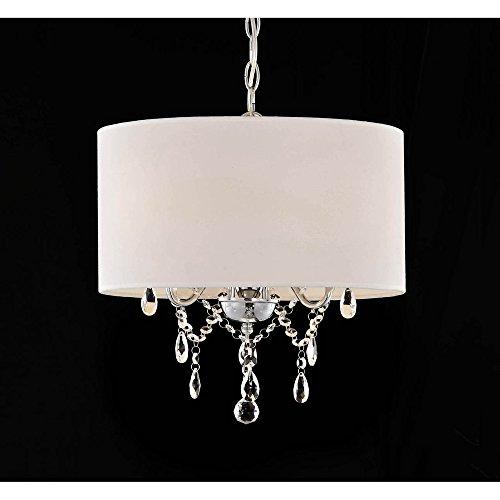Jojospring Indoor 3-light White Pendant Chandelier