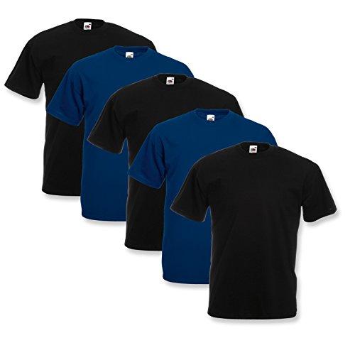 Xxxl M 3xl Toiles T Fruit The L Of Valeur XL Farbsets Loom 100coton Xxl 5 Poids Shirts S nOkXP08w