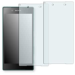"2 x protectores pantalla Golebo para Sony Xperia Z5. Lámina protectora adhesiva invisible ""Crystal Clear"". Fabricado en Alemania."