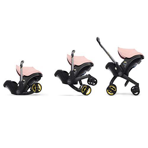 41JKnEN10zL - Doona Infant Car Seat & Latch Base – Car Seat To Stroller – Blush Pink – US Version
