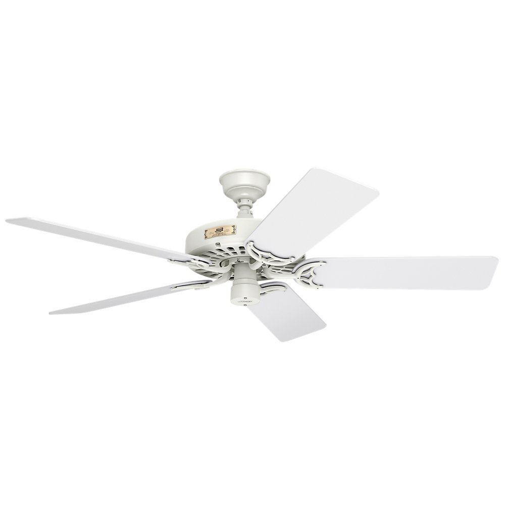 ceiling grey hunter outdoor pine with cottage white light kit blades ceilings fan pin