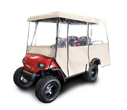 Red Dot Universal Golf Cart Enclosure for Carts with 88