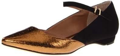 Pour La Victoire Women's Bonet Flat, Bronze, 9.5 M US