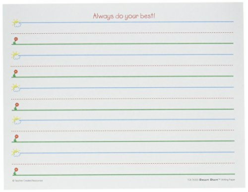 Teacher Created Resources (76503) Smart Start K-1 Writing Paper: 360 sheets